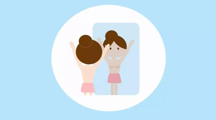 胸部日常护理自检教程,一学就会,超实用!