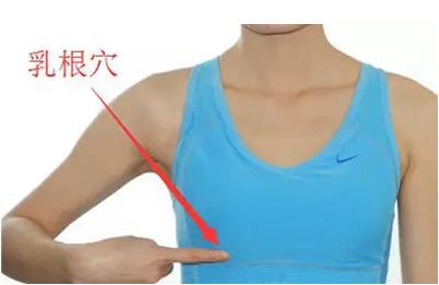 乳房边有个穴位每天按3下,有惊人的效果!