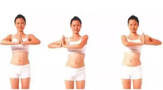 五式简单美胸瑜伽小运动,即可减肥又能美胸!