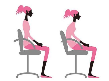 这几种不良坐姿会影响乳房健康!