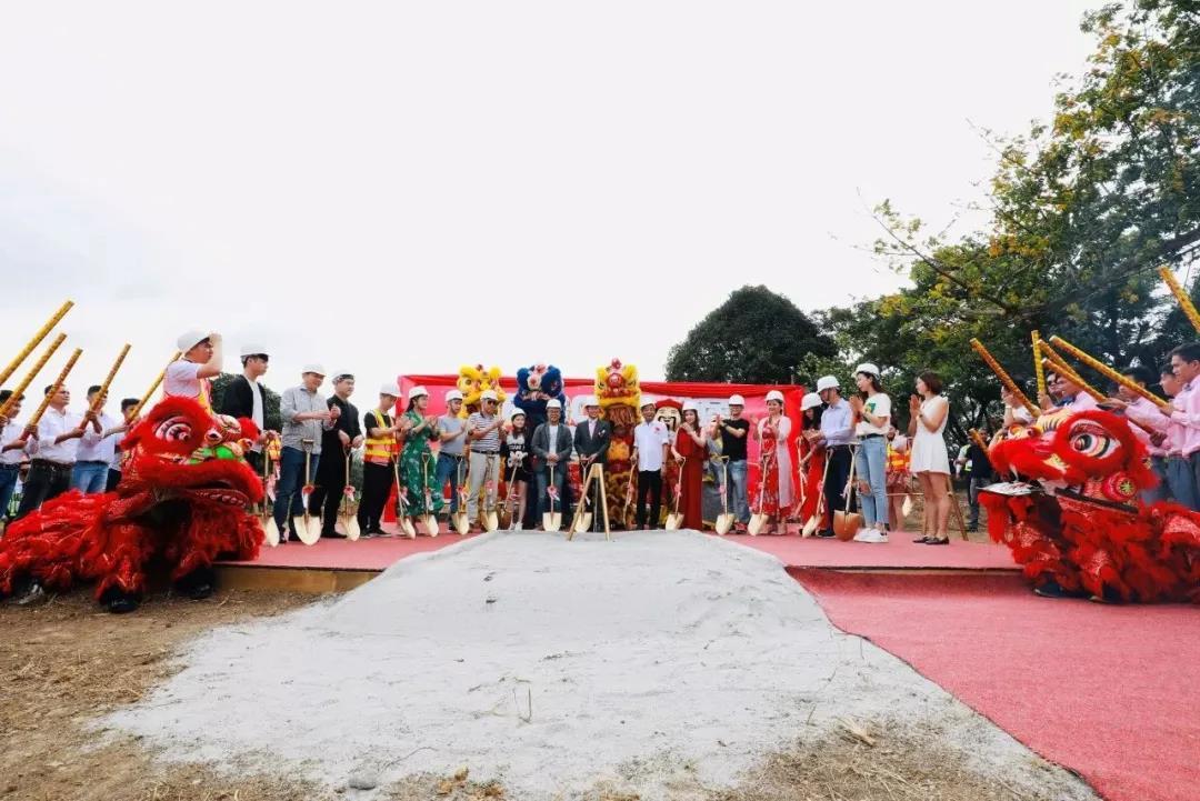 美胸汇热烈祝贺 | 菲律宾美创地产奠基仪式盛大举行